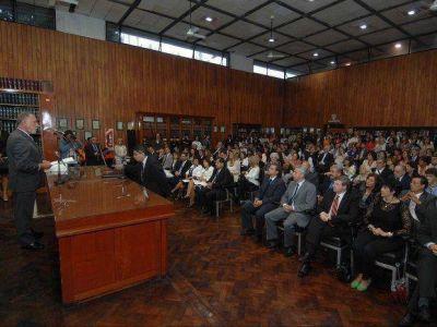 Asumieron funcionarios en el Poder Judicial