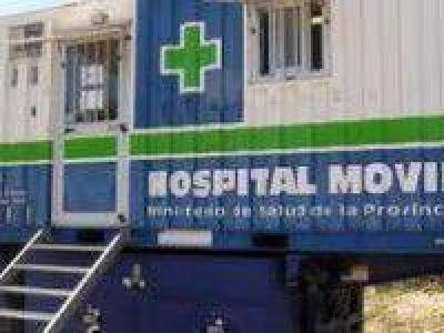 Heridos por temporal fueron atendidos en el hospital móvil