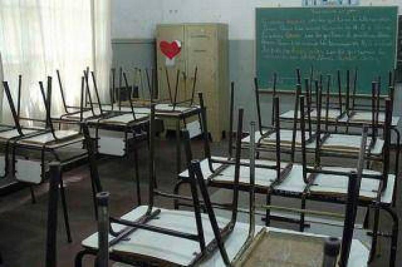Hubo una gran adhesión al paro docente bonaerense y los porteños iniciarán las clases mañana