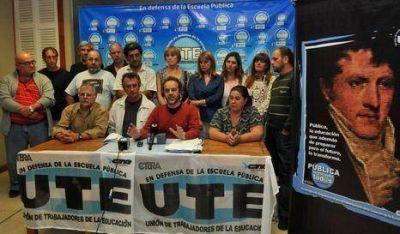 Docentes de UTE iniciarán las clases en la Ciudad