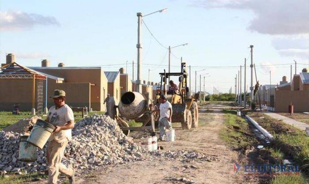 Desde la Uocra señalaron que con mil viviendas emplearían unos 1700 obreros