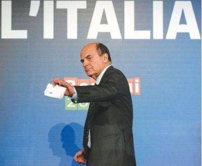 El líder de la izquierda presentó una oferta para gobernar Italia