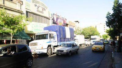 Mañana habrá una restricción de circulación de camiones