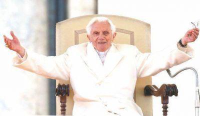 """Benedicto: en los malos momentos """"el Señor parecía estar durmiendo"""""""
