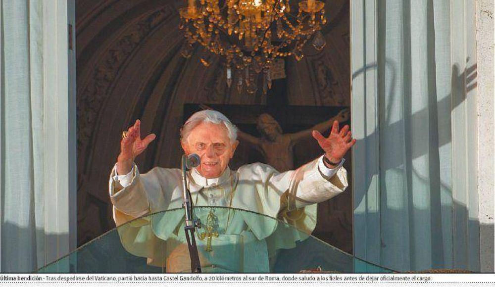 Ratzinger se fue con la promesa de reverenciar y obedecer a su sucesor