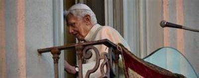"""Benedicto, ahora """"un peregrino más"""""""