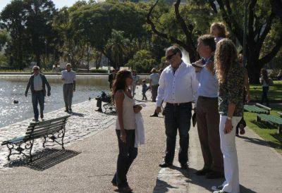 Un recorrido por el renovado Parque Centenario
