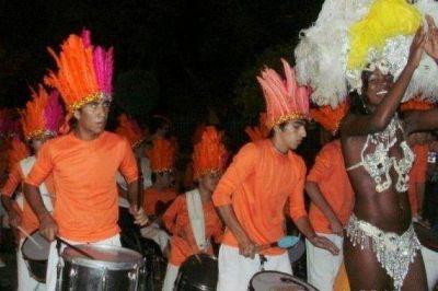 La Banda Infanto-juvenil participó de la promoción del Carnaval de Río en el centro de la ciudad