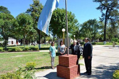 El gobierno provincial anunció obras para 9 de Julio en el día de su fundación