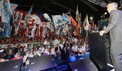 Mariotto, a full con Cristina y Kirchner