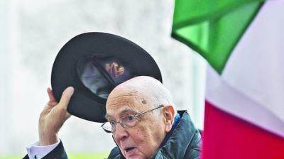 "Duro mensaje del presidente: ""Italia no está a la deriva"""
