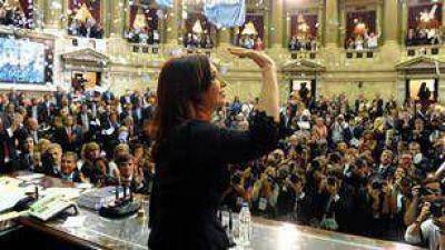 """Cristina propone que los integrantes del Consejo de la Magistratura sean """"elegidos por el pueblo"""""""