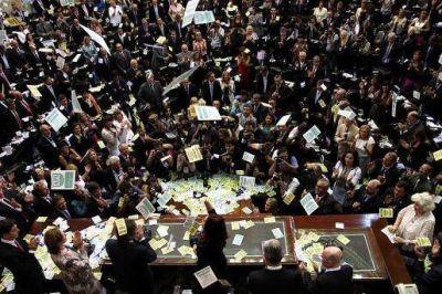 """Cristina, ante el Congreso: """"�sta fue una d�cada ganada por los argentinos"""""""