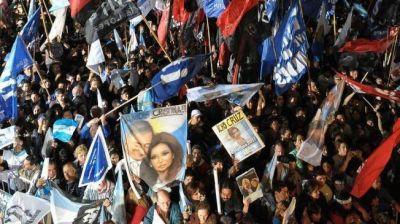 Más de cien mil personas presenciaron el discurso frente al Congreso