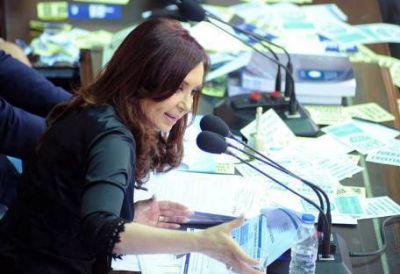 CFK habl� de trenes en el Congreso pero no mencion� el #22F