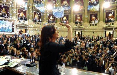 Cristina recordó a Néstor