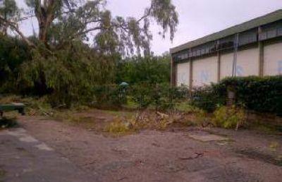 El temporal provocó destrozos en la costa