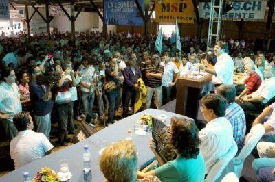 Martínez lanzó su precandidatura a diputado provincial
