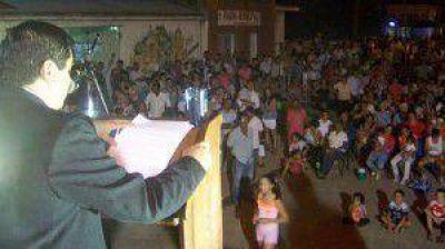 Todo Laishí escuchó el informe anual del intendente José Lezcano