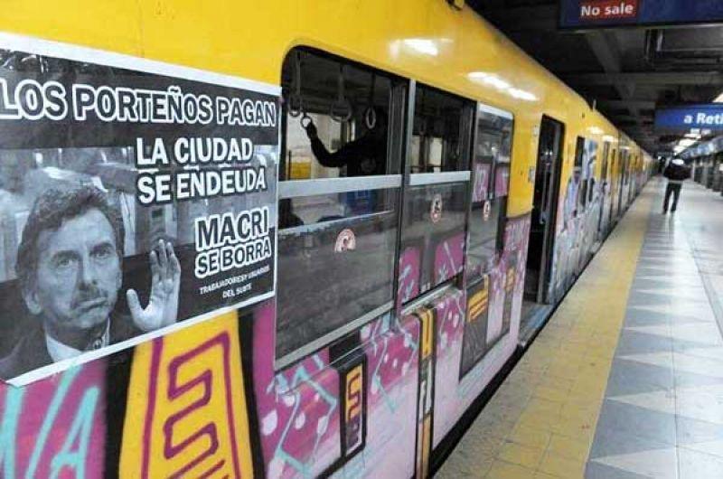 """""""No hay nada que justifique el aumento del subte"""", señaló Segovia"""