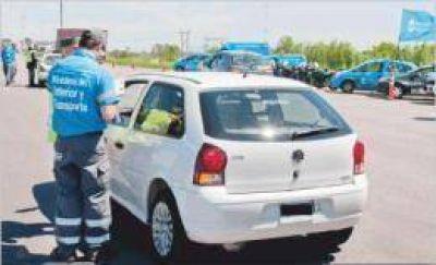 La Administración Nacional de Seguridad Vial labró más de cuatro mil actas de infracción en el NEA