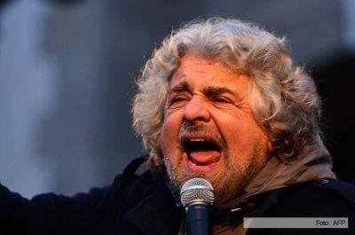 """Beppe Grillo advirtió que el sistema político italiano """"colapsará"""""""