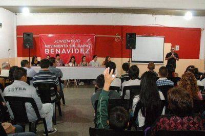 Los jóvenes de Benavídez sumaron su trabajo al Movimiento Solidario