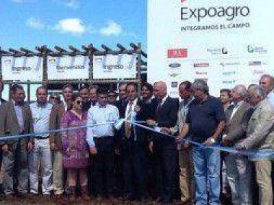 Expoagro 2013: Scioli, Bonfatti y Binner en la inauguración