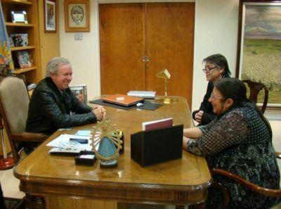 Autoridades de la UNPA se reunieron con el gobernador Peralta