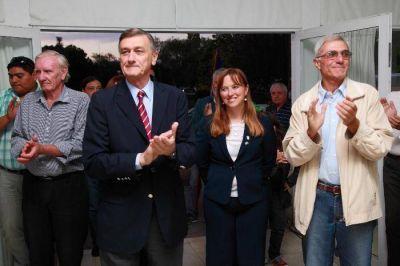 Binner respaldó a Tealdi y lanzó su proyecto presidencial