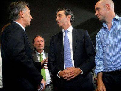 """Randazzo abogó por el """"diálogo"""" tras participar del acto de la línea A con Macri"""