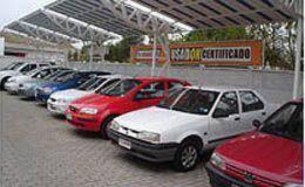 Leve repunte de la venta de autos usados en marzo