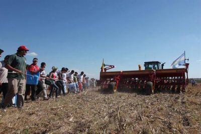 Posiciones encontradas en Expoagro por una nueva intervención en el trigo