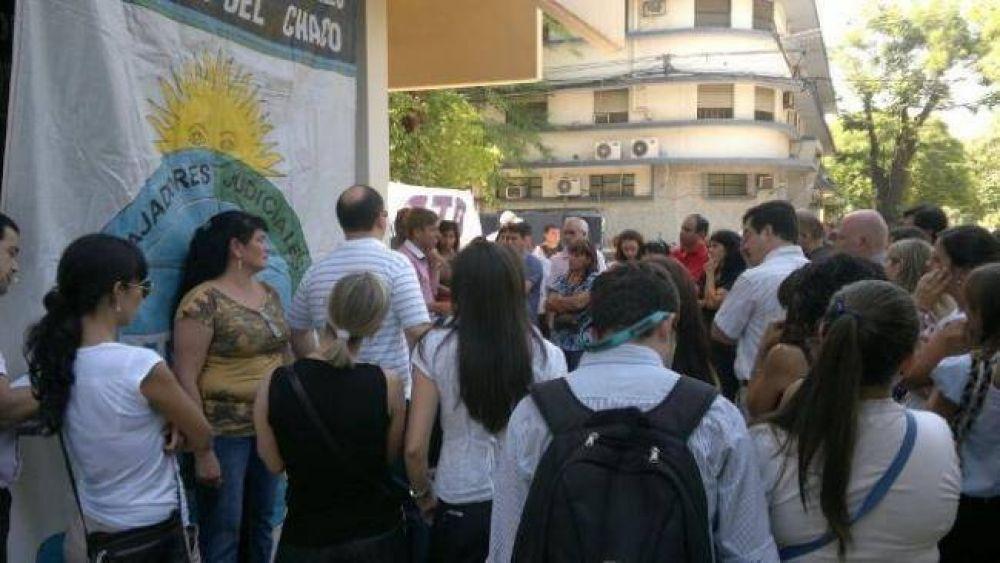 """Unión de Trabajadores Judiciales asegura que el paro se acató """"en toda la provincia"""""""