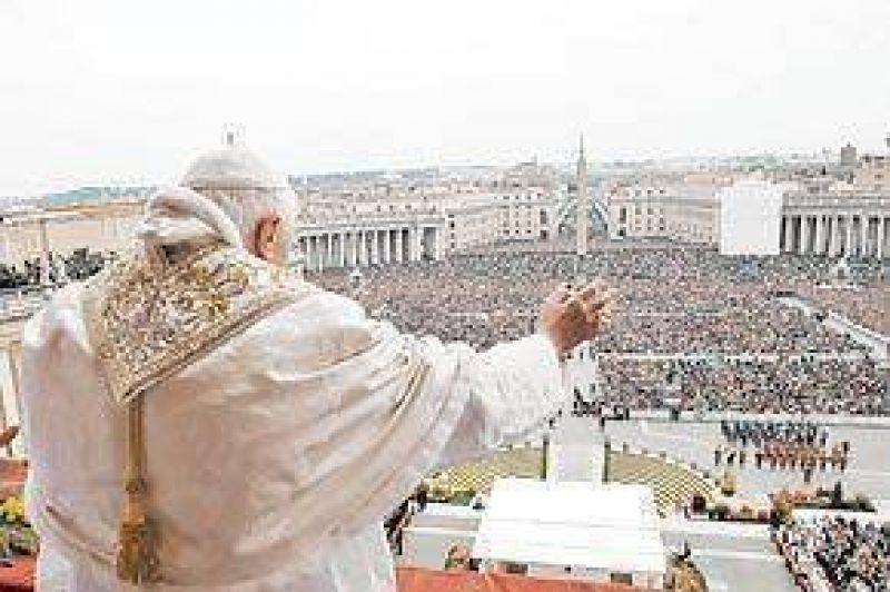 El Papa pide redescubrir la esperanza para poner fin a la crisis financiera