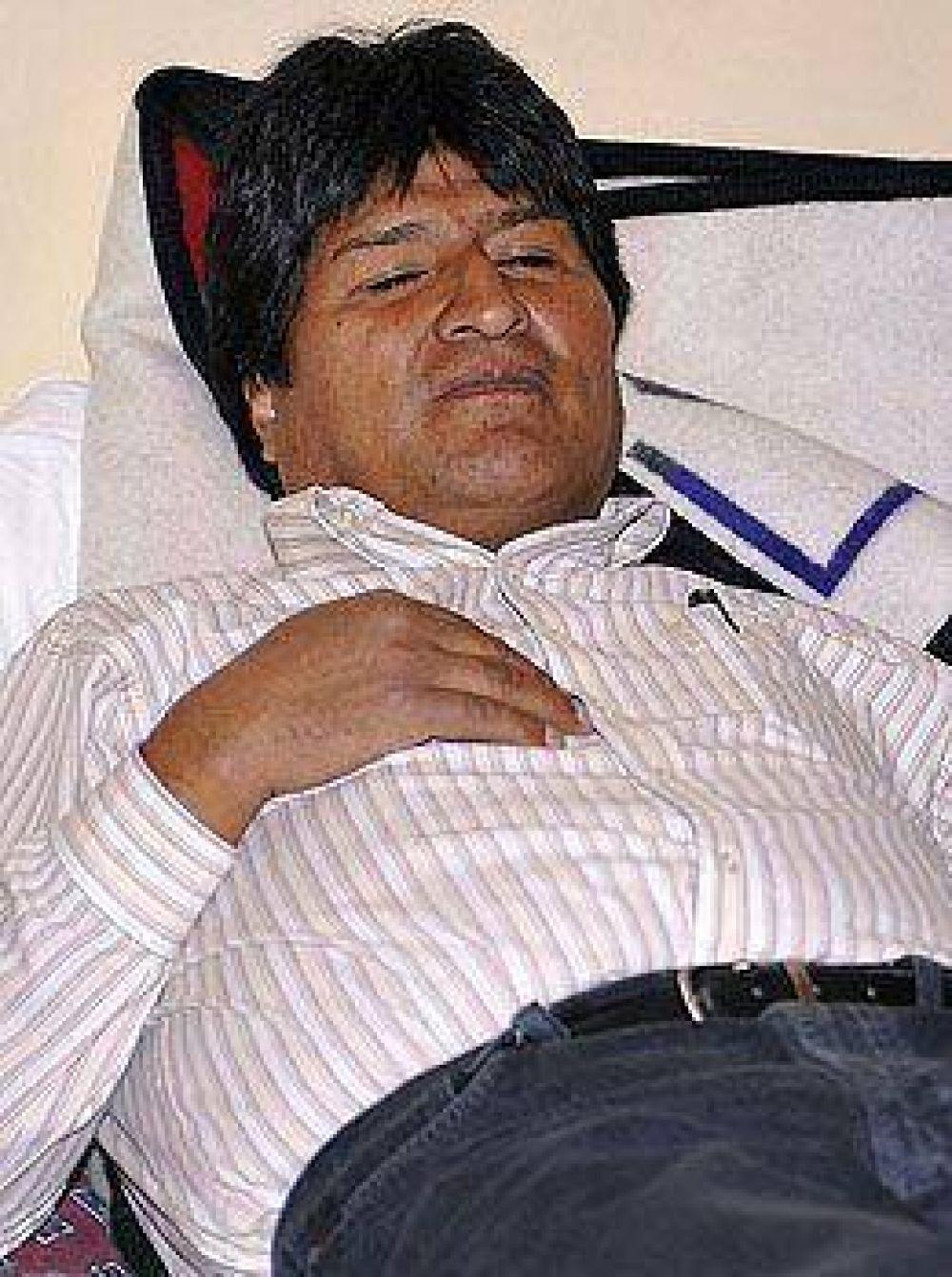 Aún en huelga de hambre, Evo prometió nuevo padrón y la oposición aceptó volver a dialogar