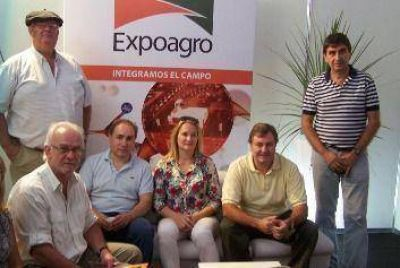 Legisladores del GEN-FAP en Expoagro.