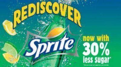 Coca-Cola remplaza la Sprite por una versión con Stevia