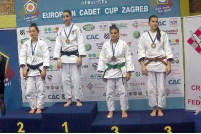 Gimena García hizo podio en la Copa Europea