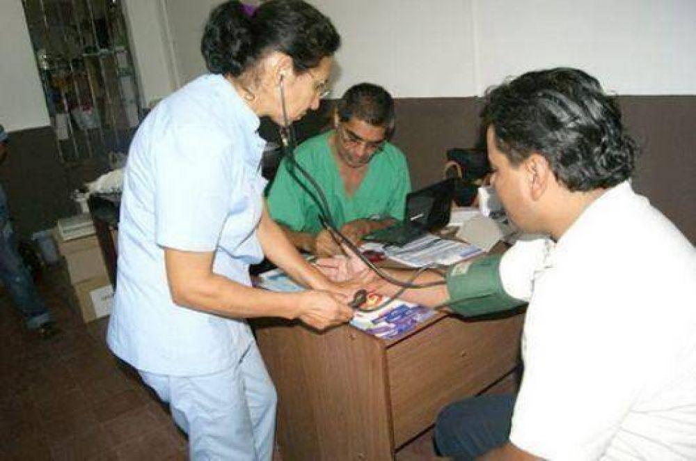 Servicios de salud, en el territorio de los malloneros