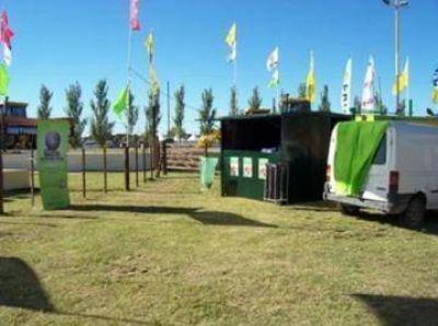 Actividades de concientización ambiental en la Fiesta del Trigo