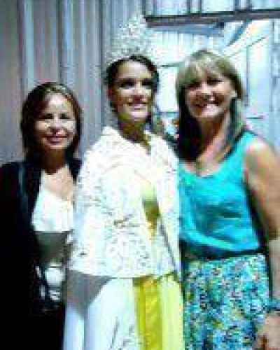 "SASHA GIGLIANI: ""Reina de la 44º Fiesta Provincial del Trigo"""