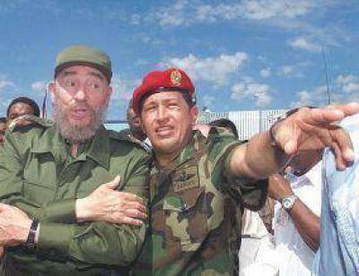 """Fidel Castro se despide de Chávez, a quien llamó """"el mejor amigo de Cuba"""""""