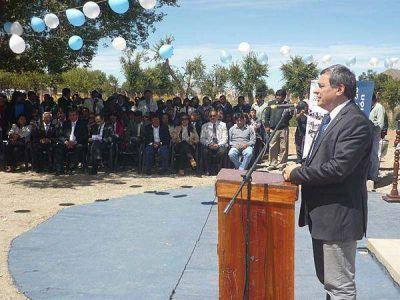Inauguraron la Escuela Agrotécnica N°8 en Abra Pampa