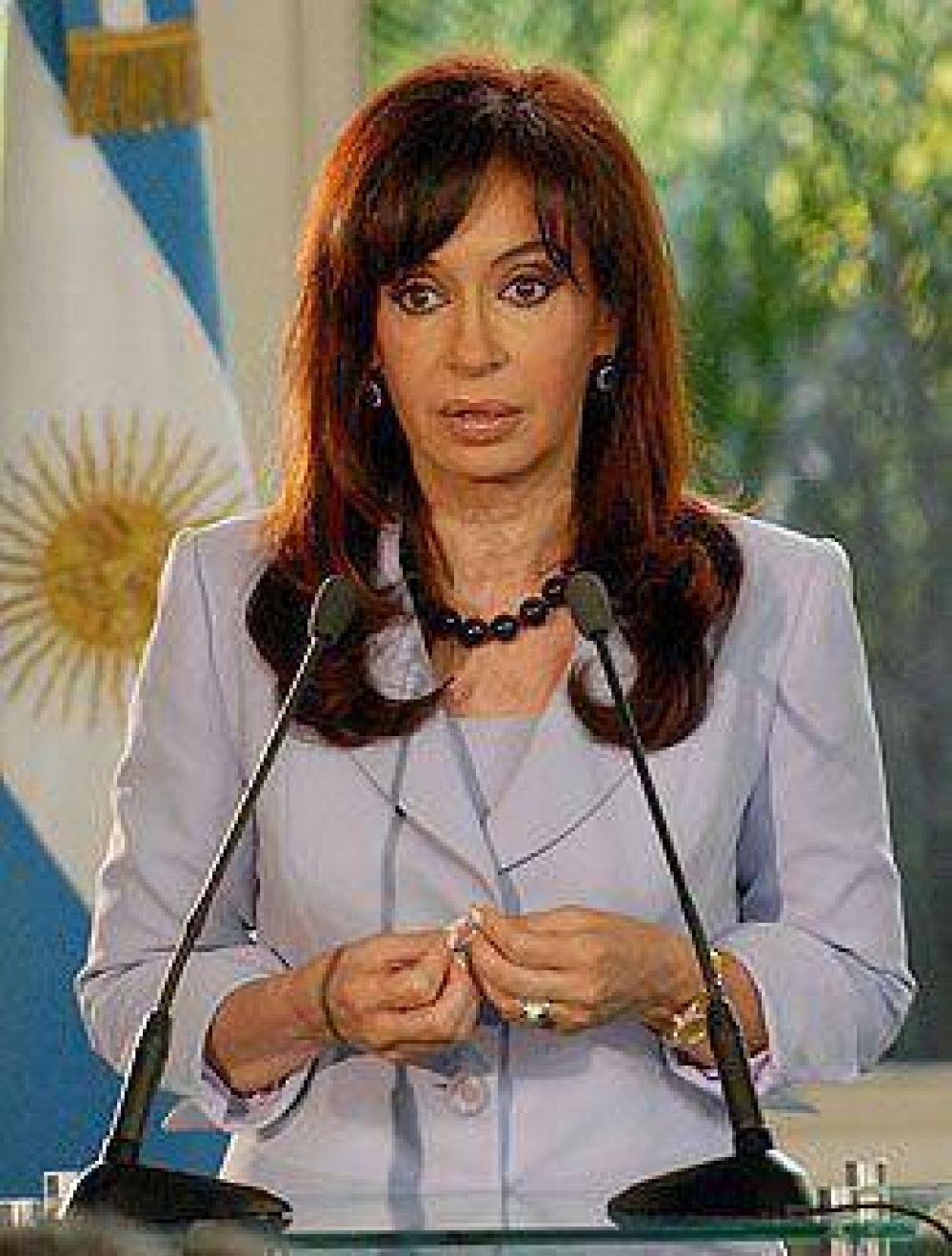 Cristina recibirá el miércoles a la cúpula de la CGT