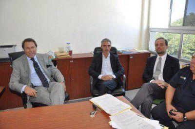El Ministro Casal le confirm� a Meoni la llegada de m�s patrulleros y efectivos policiales a Jun�n