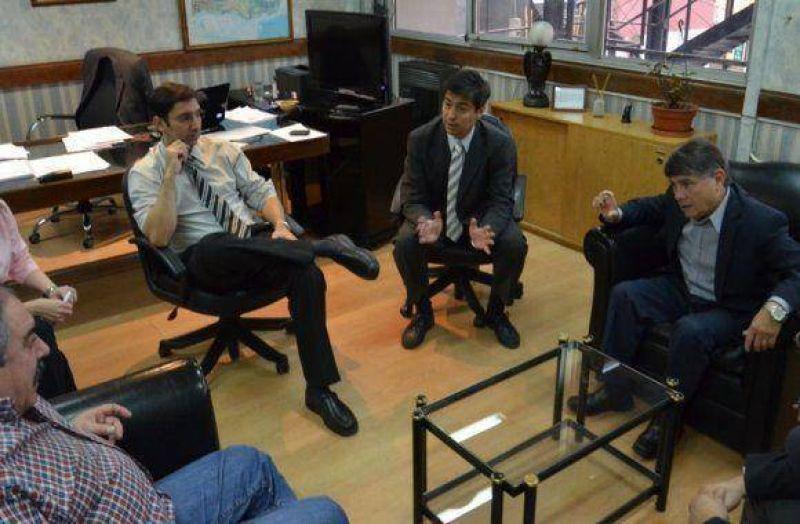 El Directorio del Ipauss se reunió con el nuevo ministro de Economía