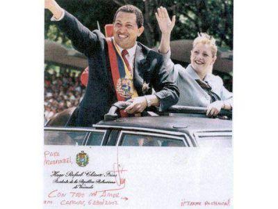 Hugo Chávez, descrito por su ex esposa