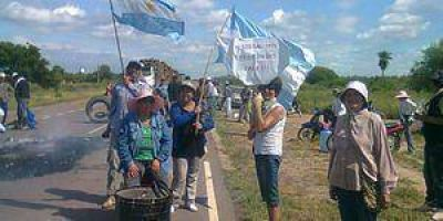 Ibarreta: Sigue el corte de Ruta en reclamo de agua