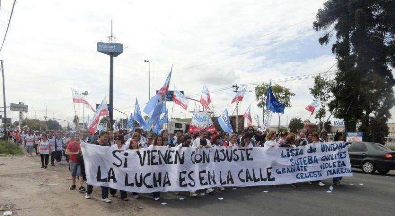 Masiva Marcha del Frente Gremial pas� por la ciudad